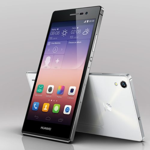 Very slim and very light but feature rich: Huawei Ascend P7