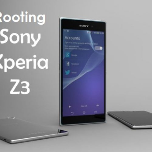 [ROOTING GUIDE] SONY Xperia Z3 rooting and installing custom recovery