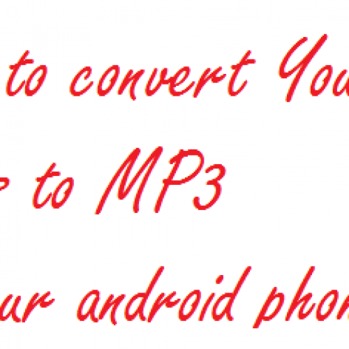[HOW TO GUIDE] How to download MP3 audio out of YouTube videos
