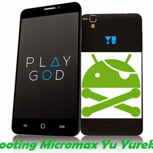 Yu Yureka rooting guide, unlock bootloader and Custom recovery