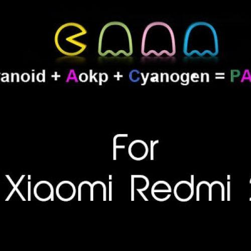 PAC ROM for Redmi 2 based on KitKat 4.4.4