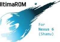 UltimaROM custom ROM for Nexus 6