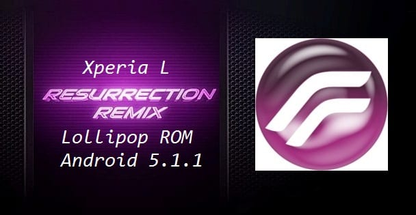 Xperia L Lollipop ROM