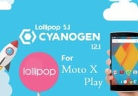 CyanogenMod 12.1 on Moto X Play