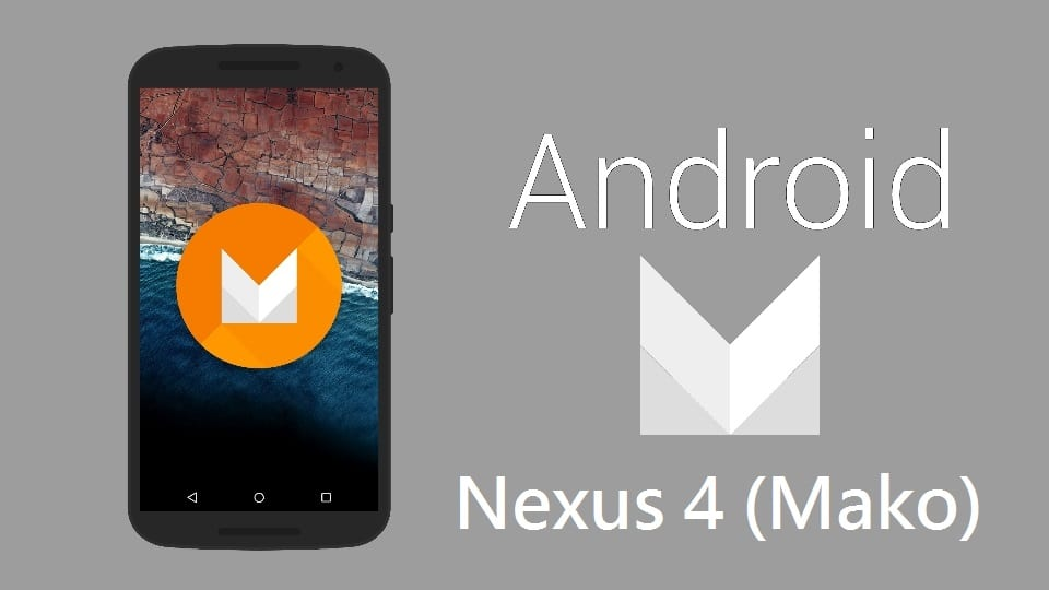 Android M for Nexus 4