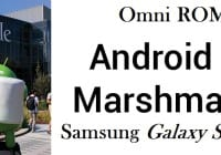 Android Marshmallow for Galaxy S i9000