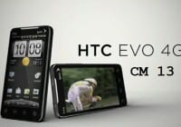 HTC EVO 4G CM13 Marshmallow ROM