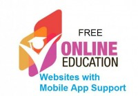 Free Online Education websites with Free Application Support