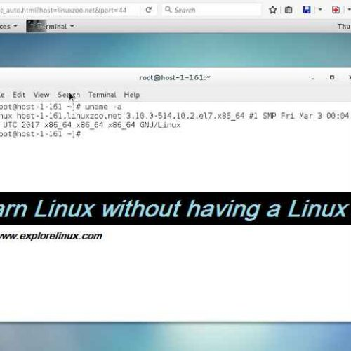 How to Learn Linux Without Having a Linux Machine?