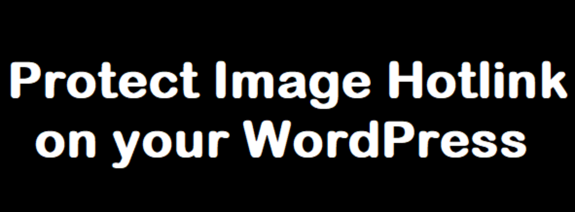 How to protect images from hotlink or being copied